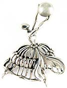 10226 Danecraft Sterling Silver Dancer Pin