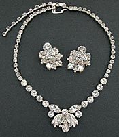 10420 Eisenberg Ice Necklace and Earrings