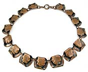 10425 Vintage Copper Necklace
