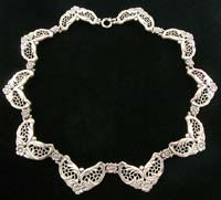 10647 Vintage Danecraft Sterling Silver Necklace