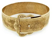 10816 Victorian Buckle Bracelet