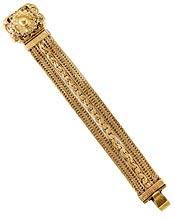 10877 Victorian Gold Gilt Bracelet
